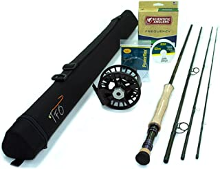 TFO BVK Fly Rod Outfit (6wt, 9'6, 4pc)