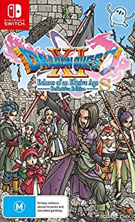 Dragon Quest XI S Echoes of an Elusive Age Definitive Edition - Nintendo Switch (B07T2GN9Q2)   Amazon price tracker / tracking, Amazon price history charts, Amazon price watches, Amazon price drop alerts