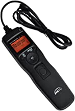 JINTU LCD Timer Shutter Release Time Lapse Intervalometer Remote Control for Nikon D90 D600 D610 D3100 D3200 D3300 D5000 D5100 D5200 D5300 D7000 Digital DSLR Camera