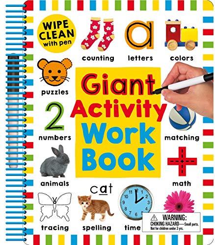 Wipe Clean: Giant Activity Workbook (Wipe Clean Activity Books)