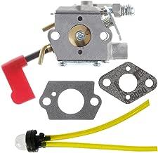 Panari 530071637 Carburetor + Primer Bulb for Poulan PPB100 PPB200 PPB350 PP031 PP033 PP035 PP036 PP131 PP135 PP136 PP336 PP446T String Trimmer