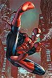 Close Up Spiderman Poster Comic Web Slinger (61cm x 91,5cm)