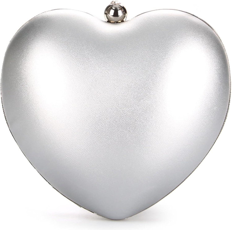 Mode Pfirsich  Heart-shaped Umhängetasche Damentasche-C Damentasche-C Damentasche-C B06WLH8NJX  Qualitätskönigin 0333c4