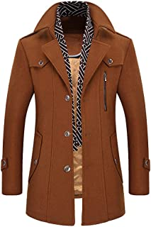 60e31871c Amazon.com  Yellows - Wool   Blends   Jackets   Coats  Clothing ...