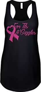 Womens Racerback Tank for Tits & Giggles
