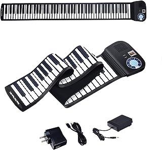 BABY JOY 88 Keys Roll Up Piano, Upgraded Electronic Piano Ke