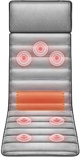 YGTFMASK Sillones Y Asientos De Masaje Eléctricos,con 7 Cabezas Masaje Vibración, Almohadillas Calefacción 9 Ajuste Velocidad, 9 Modos para Dolor Cuello Lumbar para Cuello Lumbar