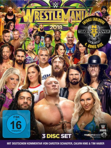 WWE: WrestleMania 34 (Limited Edition inkl. Bonus DVD NXT Takeover)