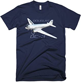 Douglas DC-3 Custom Airplane T-shirt - Personalized with...