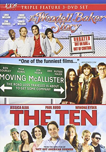 The Wendell Baker Story/Moving McAllister/The Ten (Triple Feature)