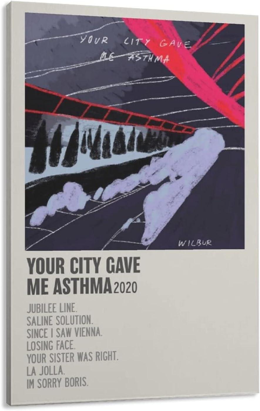Wilbur Your City Gave Me Kansas Mall Asthma Art Charlotte Mall Canvas De Wall Poster