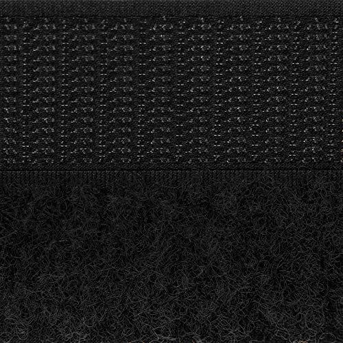 Country Brook Design - Black Sew On Hook and Loop (1 Inch, 50 Yards)