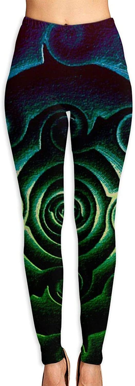 xqqr Baltimore Mall Womens Yoga Pants South online shop Western Blues Aqua Green Tum Desert