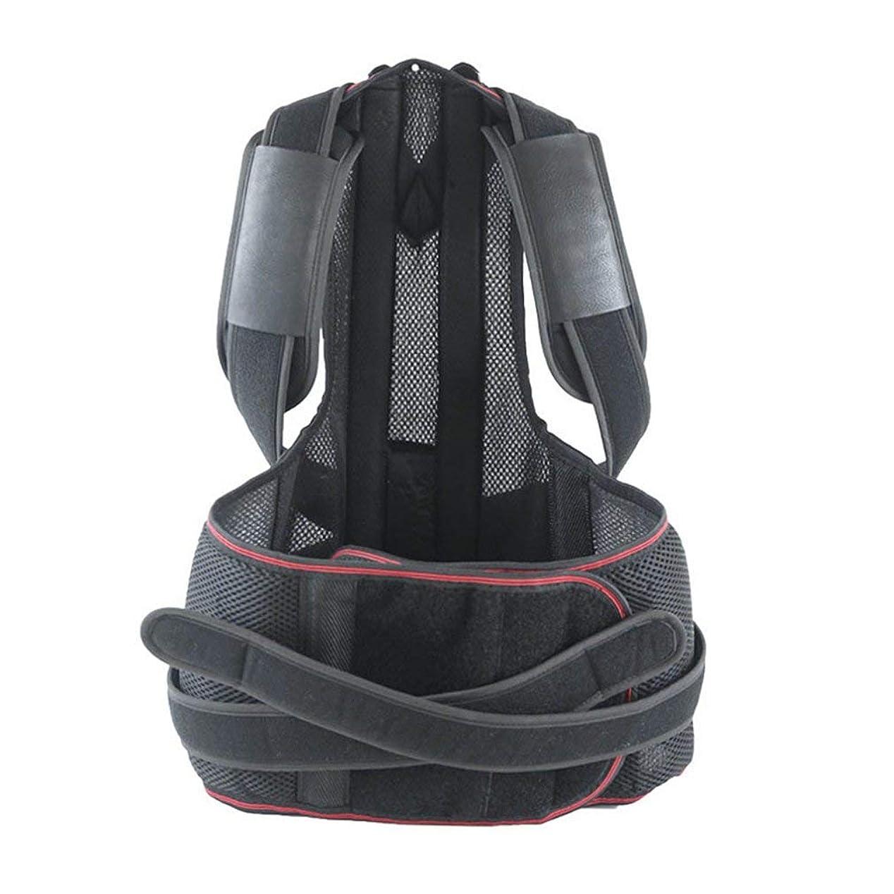 険しい痴漢郵便屋さん軽量の姿勢補正装置の悪い腰部の肩サポート背中の痛みブレース-Rustle666