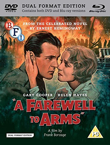 A Farewell To Arms (1932) (Dual Format Edition) [DVD] [UK Import] [Blu-ray]