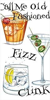 Caspari Cocktail Hour Facial Tissue Hankies - 50 Count