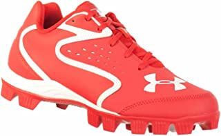 Under Armour Clean UP Low RM JR Youth Baseball Cleats RED White