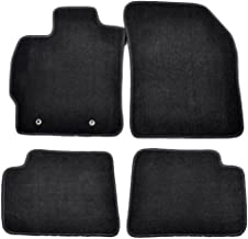 Coverking Custom Fit Front Floor Mats for Select Scion xB Models Black Nylon Carpet
