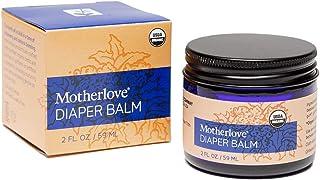 Motherlove Diaper Balm (2oz) Organic Diaper Cream—Zinc Oxide- & Petroleum-Free—Cloth Diaper Safe Ointment Soothes Diaper R...