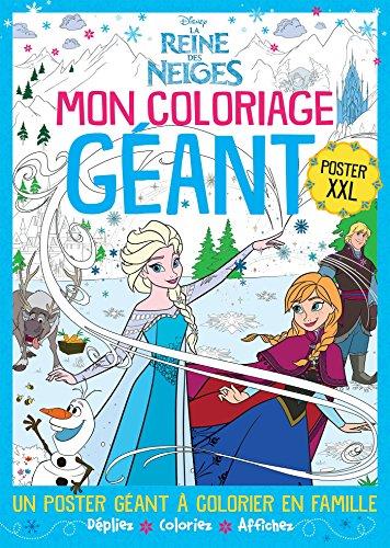 By Walt Disney La Reine Des Neiges Poster Xxl Telecharger Epub Pdf