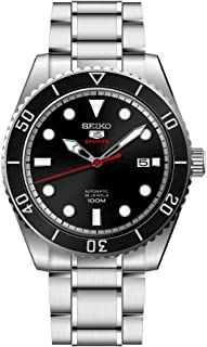 Seiko Mens Analogue Automatic Watch with Stainless Steel Strap SRPB91K1