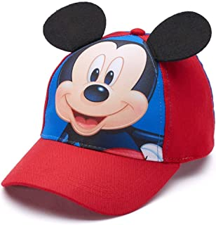 Disney Mickey Mouse Toddler Boy 3D Embroidered Baseball Cap Blue