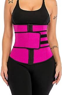 Neoprene High Compression Waist Trainer Corset Abdominal Belt Underbust Body Shaper Fajas Sweat Fat Burner Belly