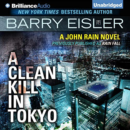 A Clean Kill in Tokyo audiobook cover art