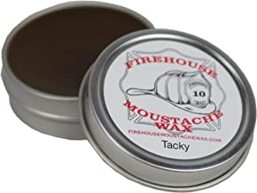 """FIREHOUSE MOUSTACHE WAX'S SUPERIOR HOLD """"WACKY TACKY"""" WAX, 1 OUNCE TIN 