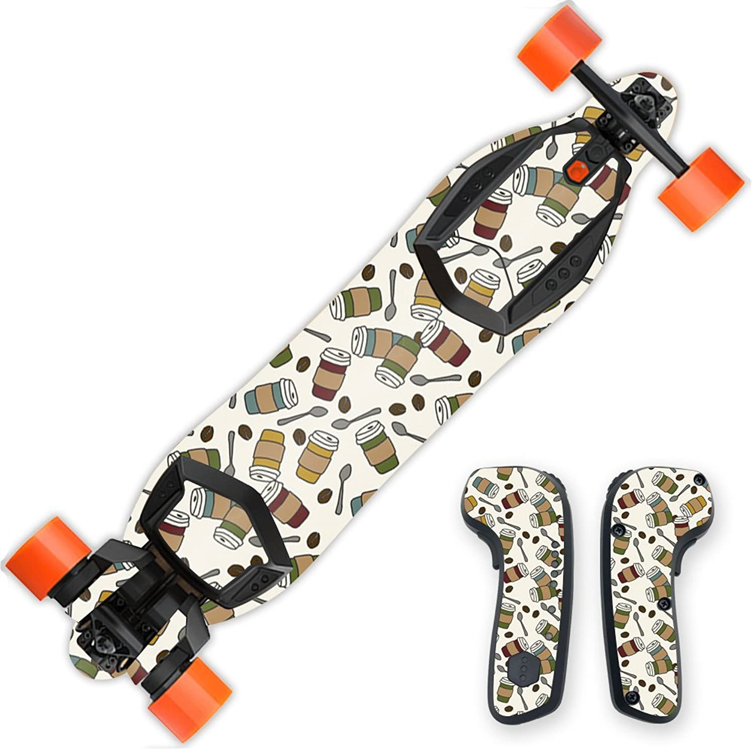 MightySkins Skin Compatible with Boosted Board wrap Cover Sticker Skins Coffee