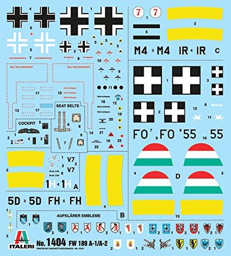 Focke-Wulf Fw-189A-1-1:72 Italeri 1404