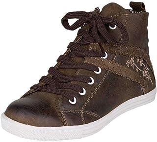 Spieth & Wensky Damen Damen Sneaker Rustic braun, braun, 36