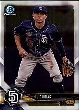 2018 Bowman Chrome Baseball Prospects #BCP57 Luis Urias Padres