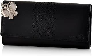 Butterflies Women's Wallet (Black) (BNS 2386BK)