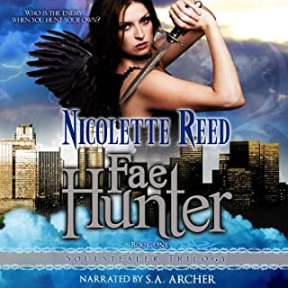 Fae Hunter audiobook cover art