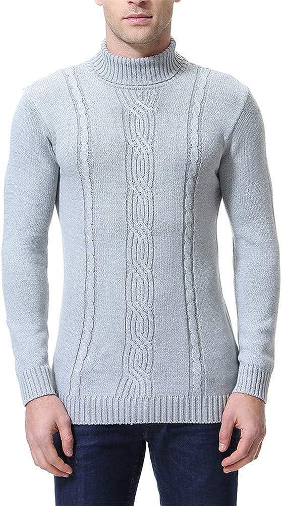 Mens Sweatshirt Classic Jumper Sweater Pullover Work Casual Sweatshirt Casual Round Neck Sweater Fashion