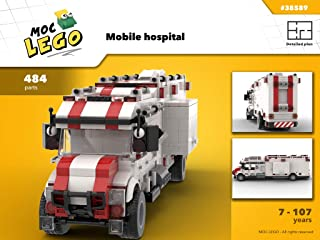 Mobile hospital (Instruction Only): MOC LEGO (English Edition)