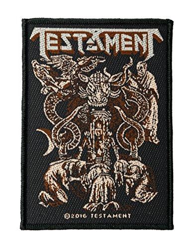 Testament Demonarchy Aufnäher Patch - Gewebt & Lizenziert !!
