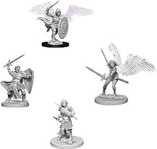 Dungeons & Dragons Nolzur's Marvelous Unpainted Miniatures Bundle: Aasimar Male Paladin & Aasimar Female Paladin