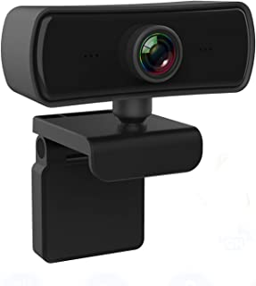 1440P 2K HD Webcam with Microphone Noise Reduction,USB 2.0 Desktop Laptop Computer Web Camera with 4G Auto Light Correctio...