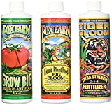 Fox Farm Liquid Nutrient Trio Soil Formula - Big Bloom, Grow Big, Tiger Bloom Pint Size (Pack of 3)