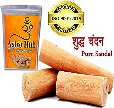 ASTRO HUB - Sandalwood Scented Processed Mysore Chandan Sticks, Chandan Wood/Sandal Wood Sandalwood/Sandal Wood for Pooja (25-30 Gram) / Chandan Wood Stick/Sandal Wood Mysore Sandal Wood/Chandan Wood