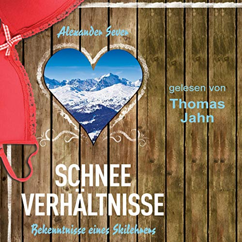 Schneeverhältnisse     Bekenntnisse eines Skilehrers              By:                                                                                                                                 Alexander Sever                               Narrated by:                                                                                                                                 Thomas Jahn                      Length: 5 hrs and 32 mins     Not rated yet     Overall 0.0