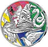 Four Houses Harry Potter Moneda Plata 50€ Euro France 2021