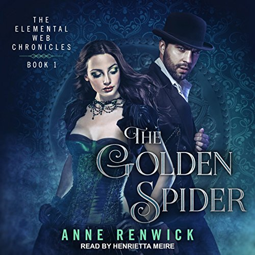 The Golden Spider audiobook cover art