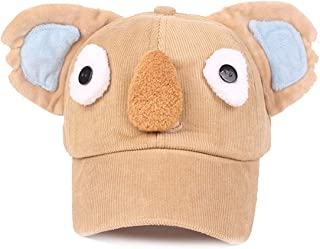 AMAZACER Baby Kid Boy Girl Warm Peaked Hat Baseball Visor Beret Cap (Color : Khaki)