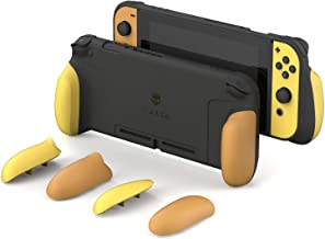 Skull & Co. GripCase: A Comfortable Protective Case with Replaceable Grips [to fit All Hands Sizes] for Nintendo Switch [N...