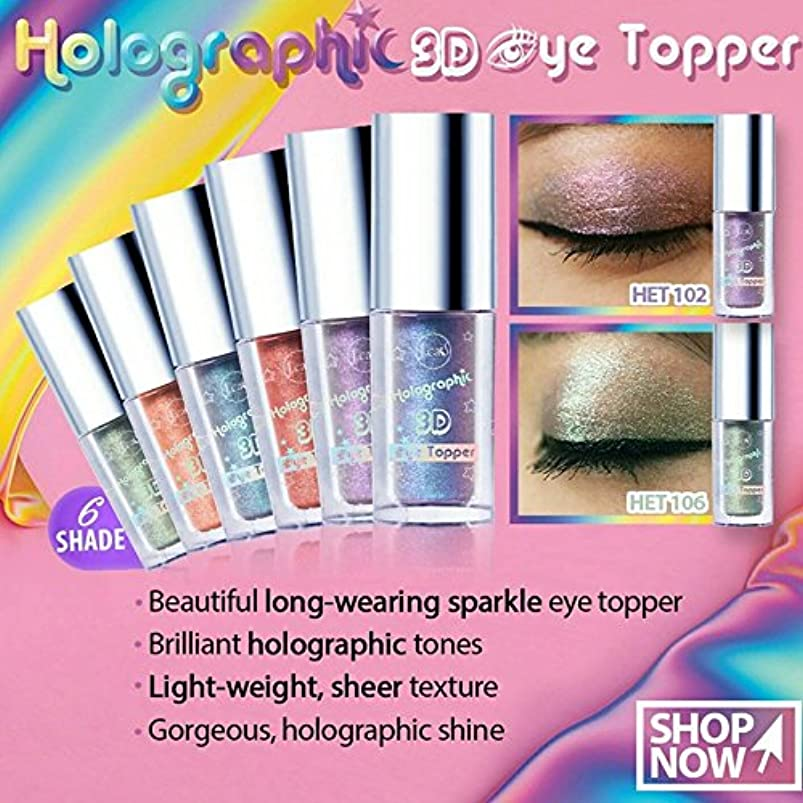 進化傾くリーチJ. CAT BEAUTY Holographic 3d Eye Topper - Azul Lemonade (並行輸入品)