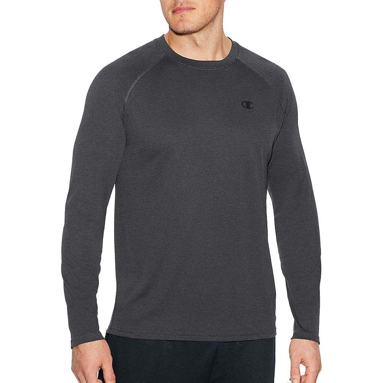 オフ遺伝的偏心(チャンピオン) Champion メンズ トップス 長袖Tシャツ Champion Vapor Select Long Sleeve Shirt [並行輸入品]