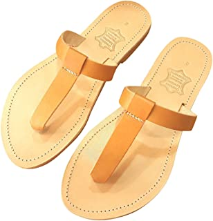 Ancient Greek Style Leather Sandals Thong Roman Handmade Womens Shoes Gladiator Spartan EPIMETHEUS Flat Heel Slide Slip-On Flip Flops Fashion Girls